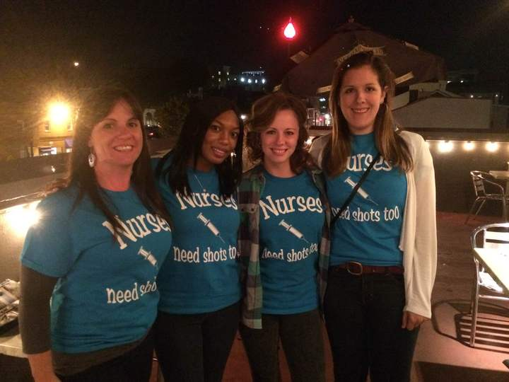 Cheers To New Nurses Celebrating Bsn Graduation! T-Shirt Photo