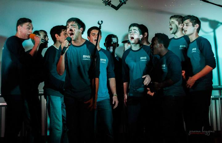 Bare Naked Statues: Saint Louis University's All Male A Cappella Group T-Shirt Photo