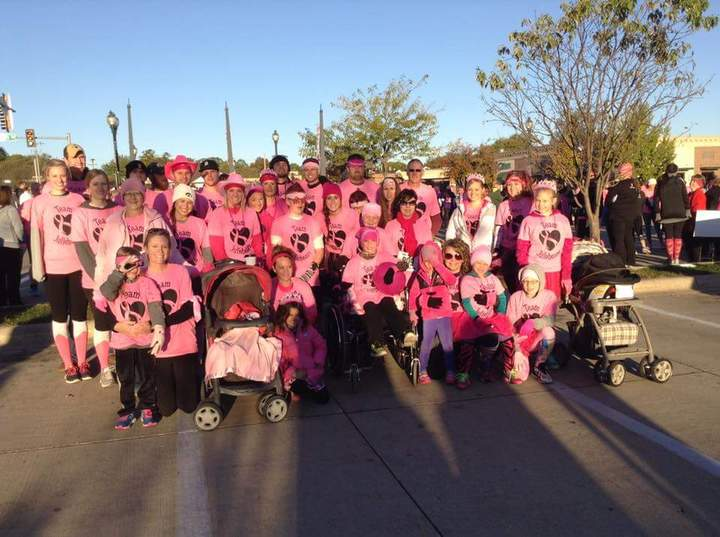 Pink Ribbon 5k T-Shirt Photo
