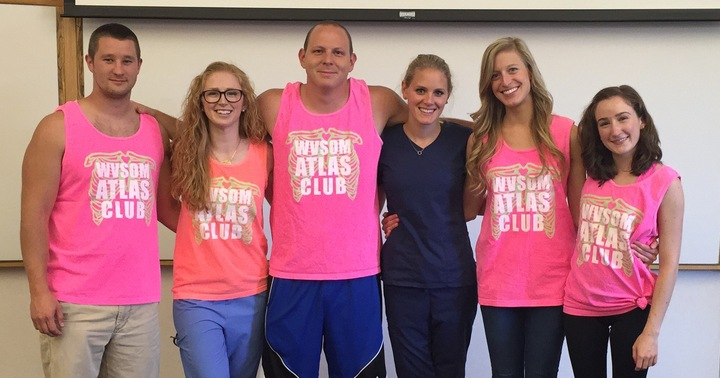 Wvsom Anatomy Club T-Shirt Photo