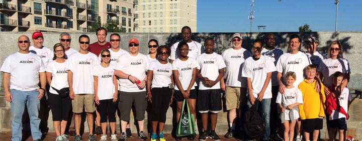 Aecom 2015 Heartwalk Team T-Shirt Photo