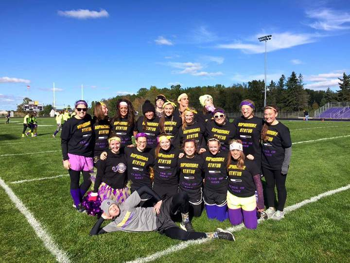 Denmark Sophomore Powder Puff 2015 T-Shirt Photo