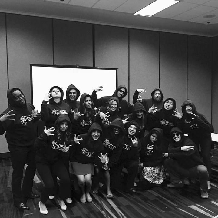 Hult Hoodies   > Gangsta Business Meetings T-Shirt Photo