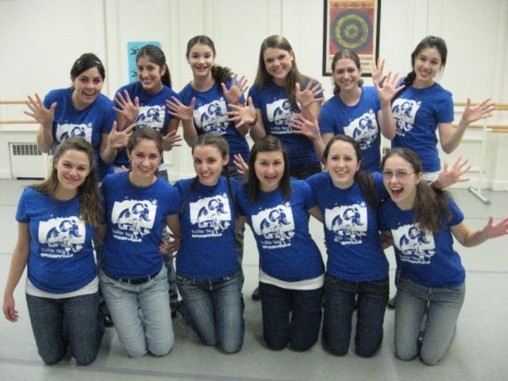 Tufts Tap Ensemble! T-Shirt Photo