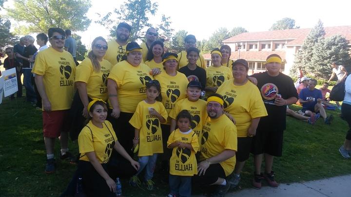 Team Elijah T-Shirt Photo