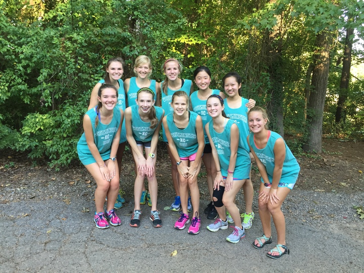 Cross Country Team Twinning T-Shirt Photo