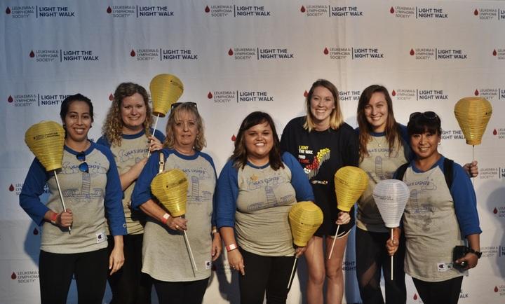Lighting The Night To Fight Leukemia! T-Shirt Photo