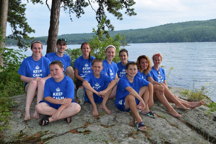 Webster Lake Paddlers T-Shirt Photo