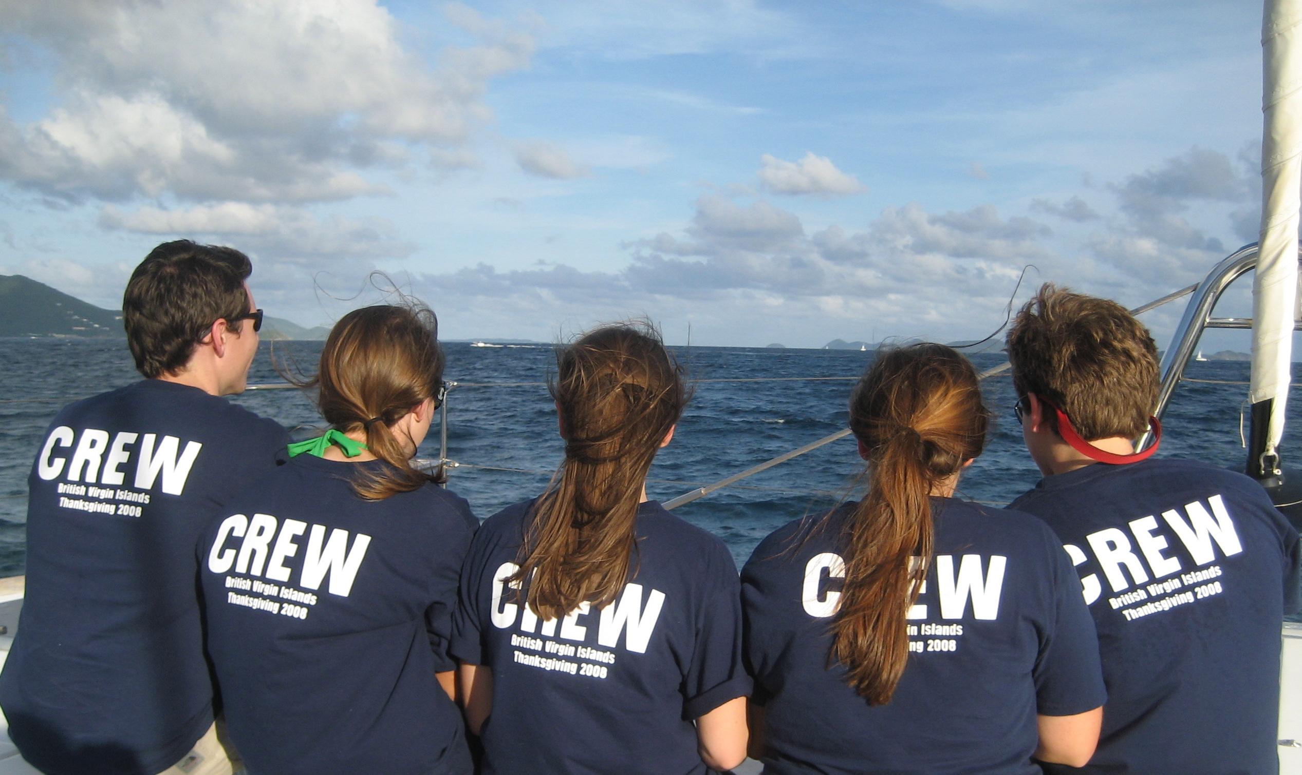 Design your own t-shirt hanes - Kobs Closuit British Virgin Islands Sailing Trip 2008 T Shirt Photo