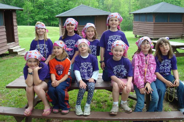 Girl Scouts Camping Trip T-Shirt Photo