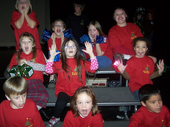 We're A Little Nervous About The Christmas Pageant! T-Shirt Photo
