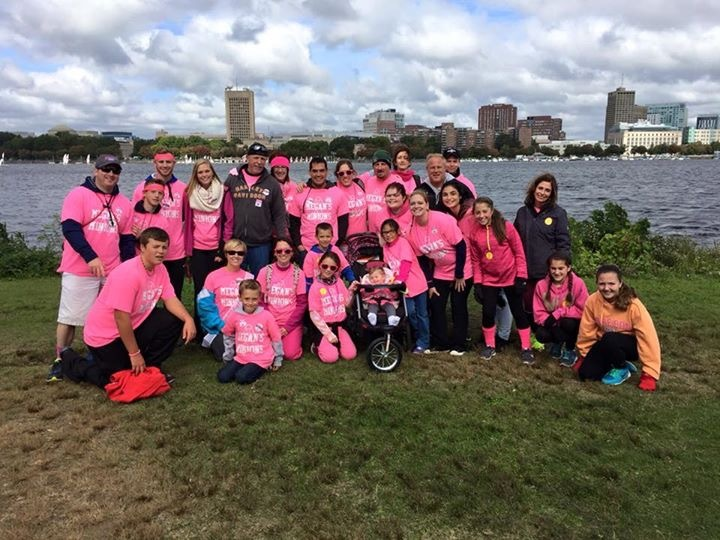 Making Strides For Breast Cancer Boston!! T-Shirt Photo