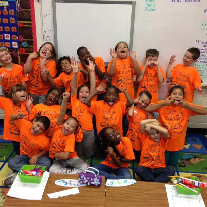 Wild About 2nd Grade T-Shirt Photo