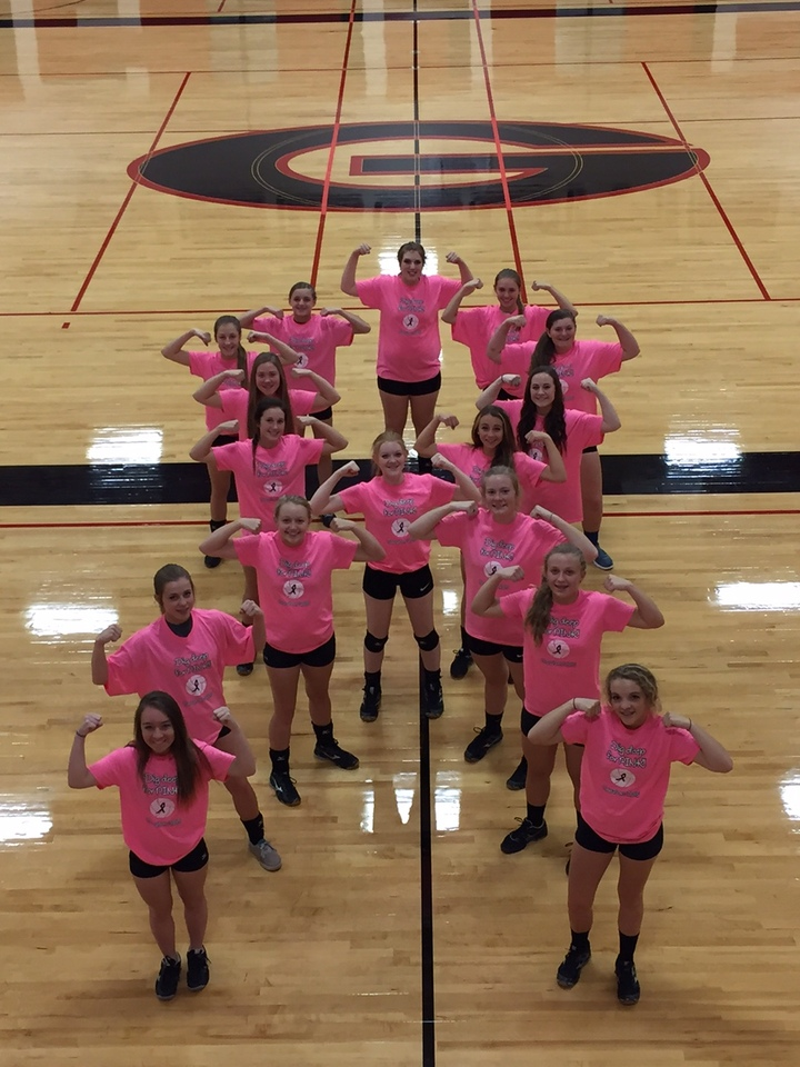 Dig Deep For Pink T-Shirt Photo