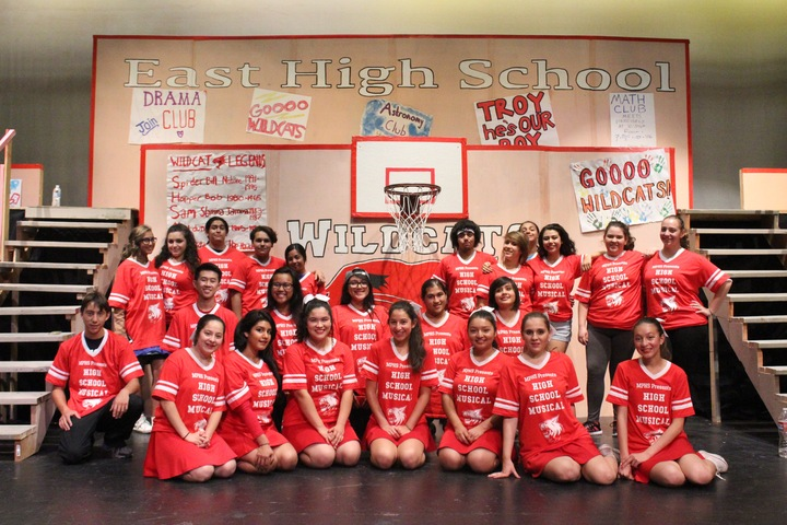 Mphs Cast Of High School Musical T-Shirt Photo