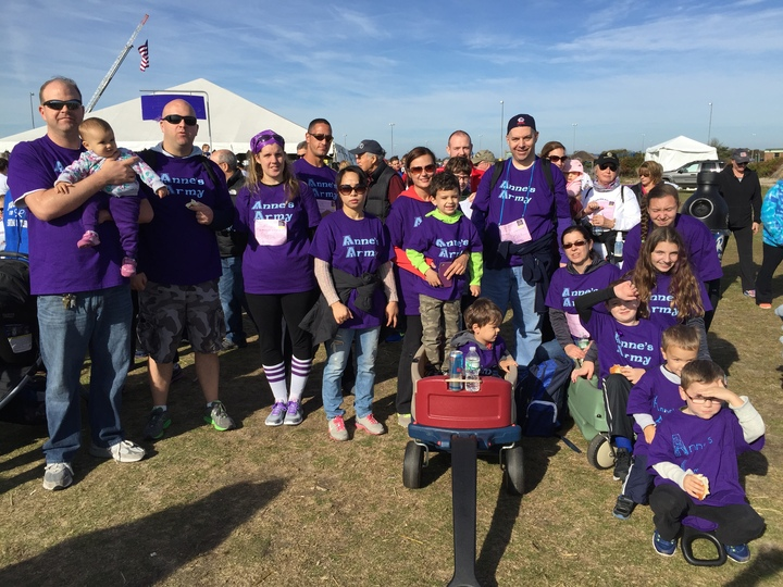 Anne's Army Pancreatic Cancer Walk Team T-Shirt Photo
