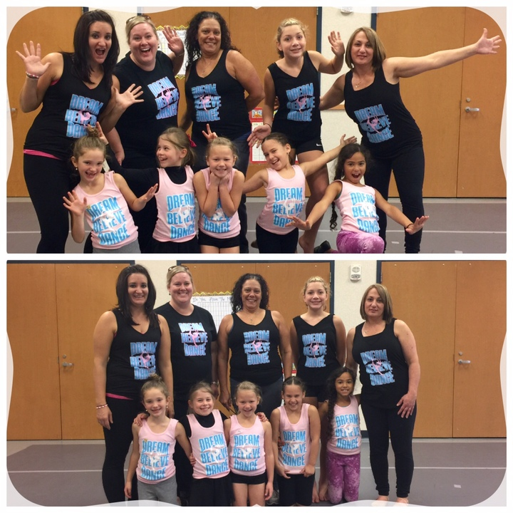 Dream...Believe...Dance!!  What A Team!! T-Shirt Photo