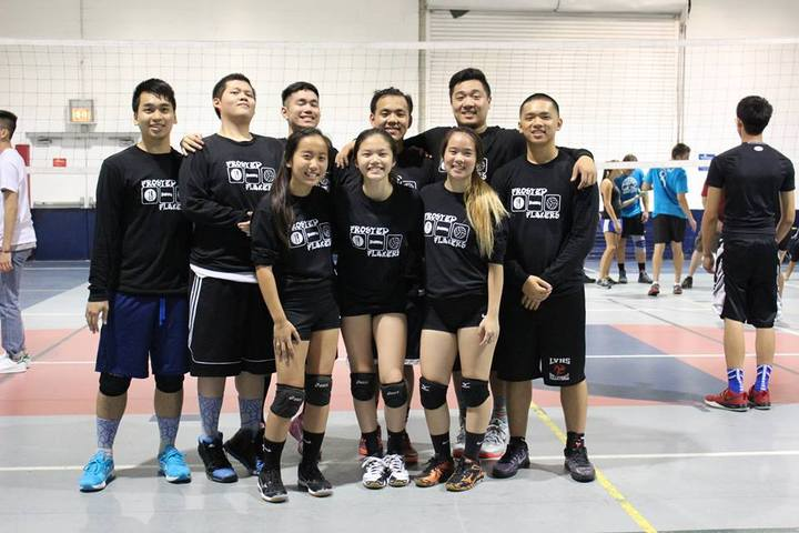 Volleyball Tournament T-Shirt Photo