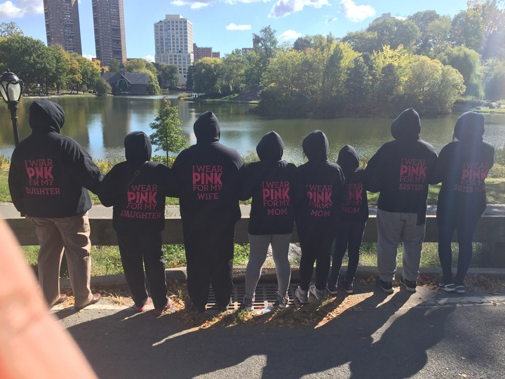 Central Park Breast Cancer Walk T-Shirt Photo