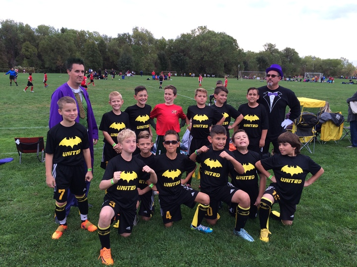 Batman Takes On The Soccer Tournament  T-Shirt Photo