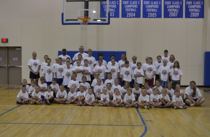 Community Basket Ball Camp T-Shirt Photo