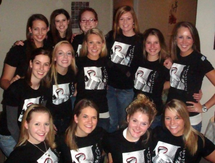 Sensations Virginia Tech A Cappella T-Shirt Photo