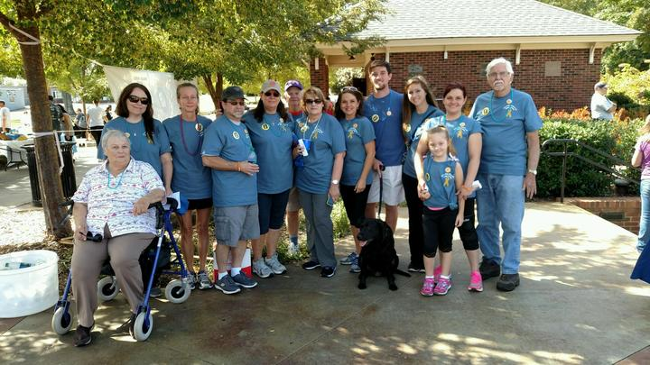 Team Haley  Out Of The Darkness Walk T-Shirt Photo