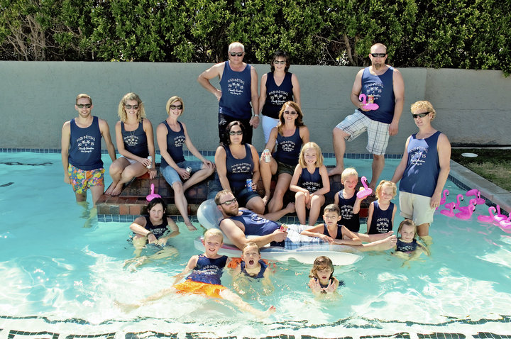 Knihnitski Family Does Palm Springs...All The Way From Canada! T-Shirt Photo