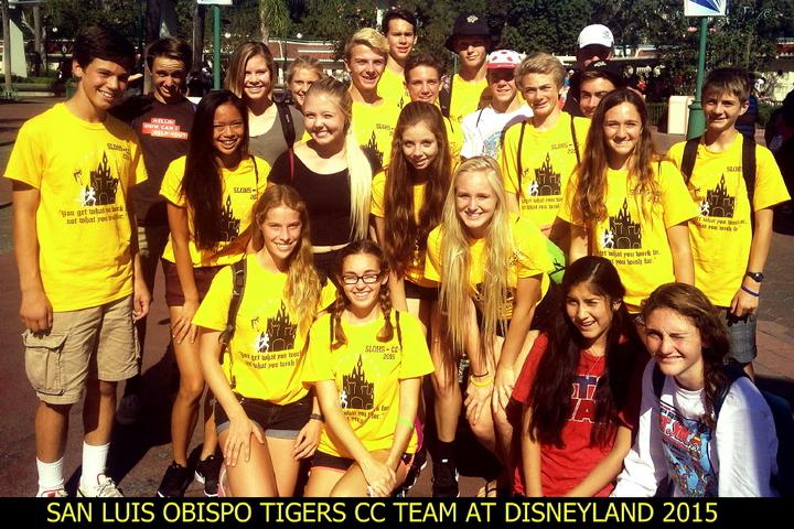 San Luis Obispo High School Takes Disneyland T-Shirt Photo