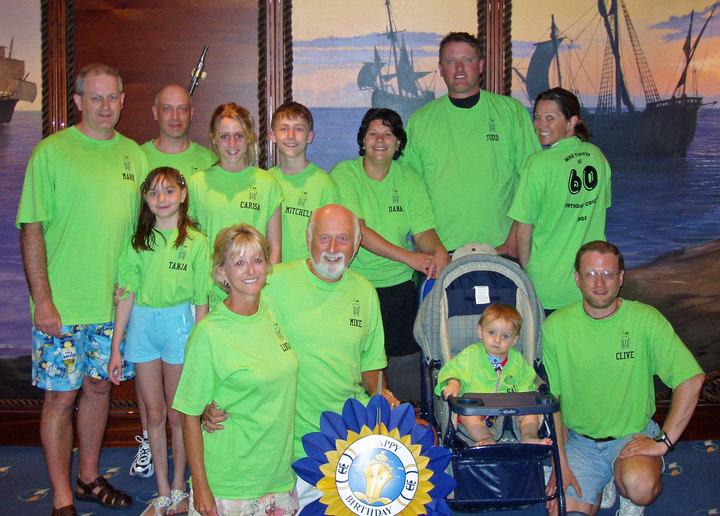 Mike's 60 Birthday Cruise T-Shirt Photo