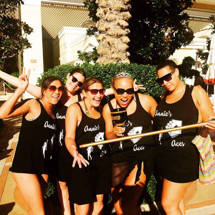 Annie's Aces Vegas Bachelorette T-Shirt Photo