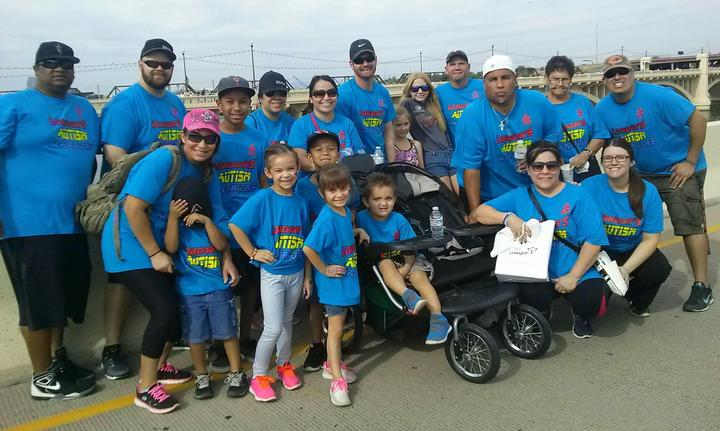 Autism Speaks Walk Tempe Az. 2015 T-Shirt Photo