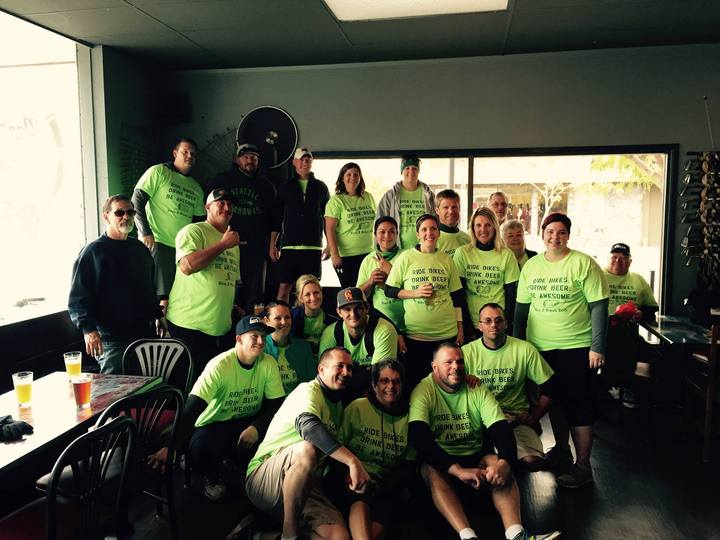 Bikes & Brews 2015 T-Shirt Photo