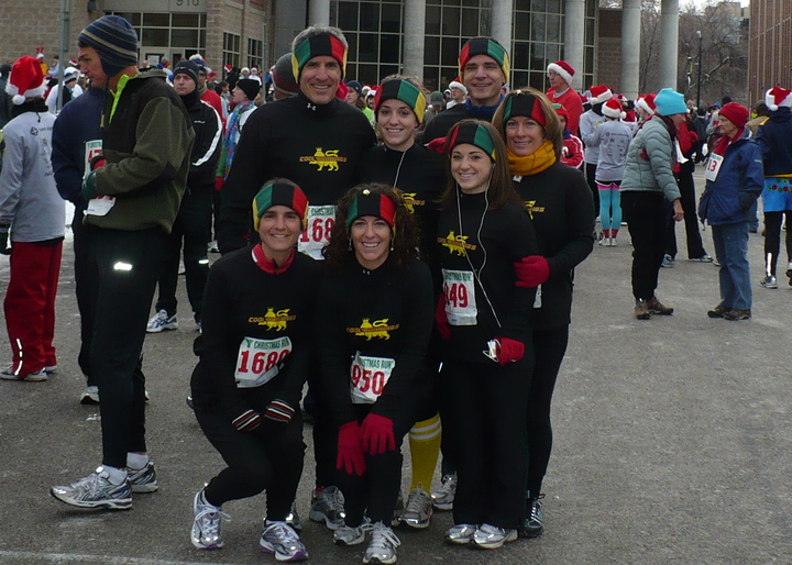 Christmas Run 2008 T-Shirt Photo