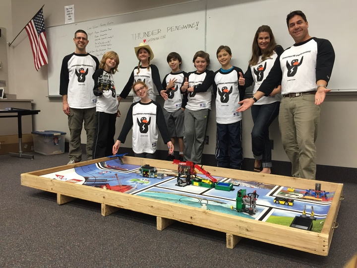 Thunder Peng Wins Robotics Team Love Custom Ink T-Shirt Photo