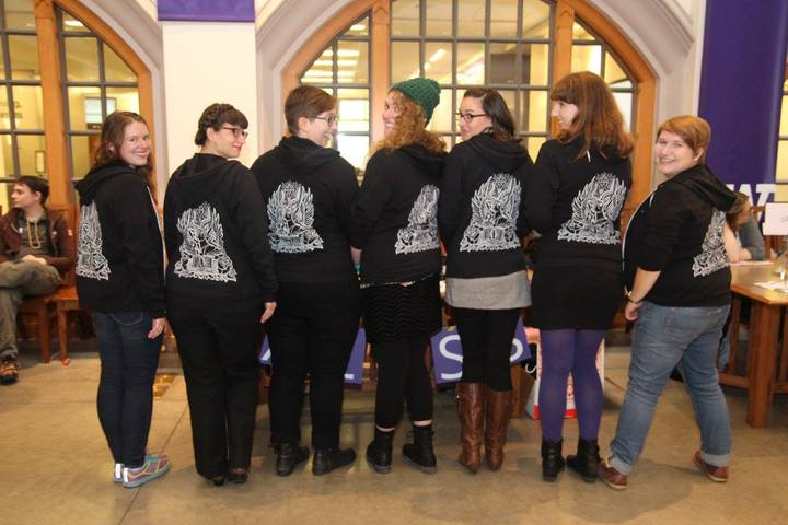 Sporting Our Fantastic Custom Ink Hoodies! T-Shirt Photo
