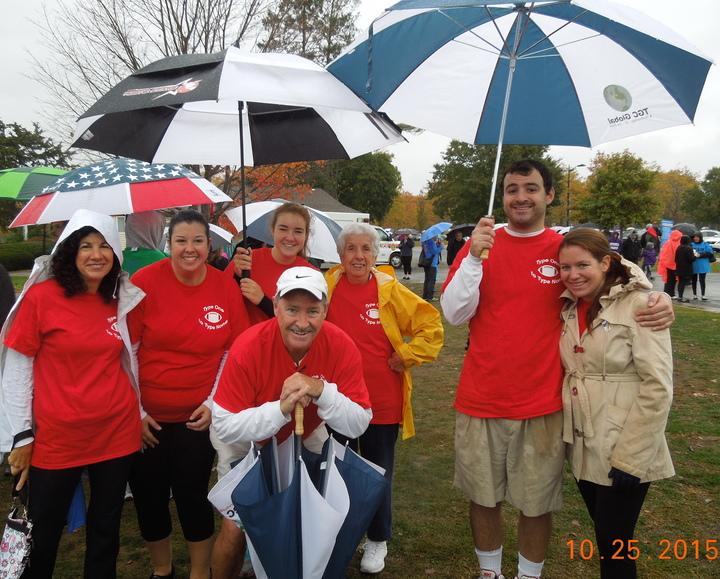 The Sween Team Walking In The Rain T-Shirt Photo