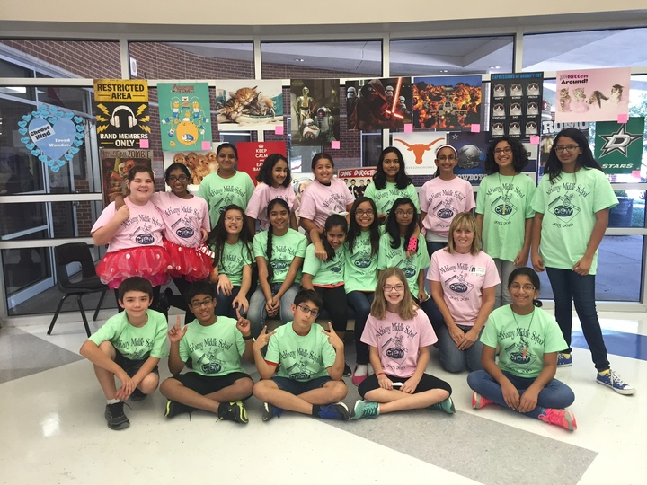 Mc Kamy Middle School Book Crew T-Shirt Photo