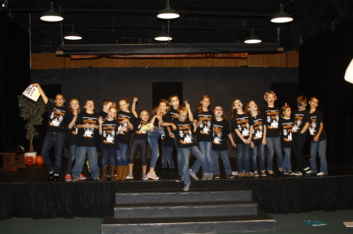 Orrville Community Theater Halloween Kids! T-Shirt Photo