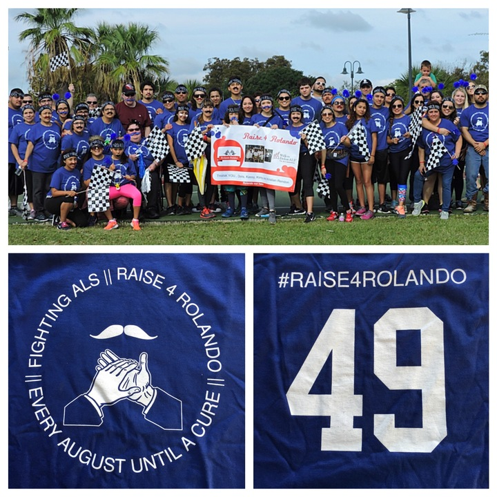 Raise4 Rolando   Als Walk  T-Shirt Photo