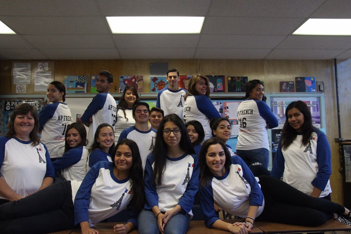 Le Classe D'a.P. Francais  T-Shirt Photo