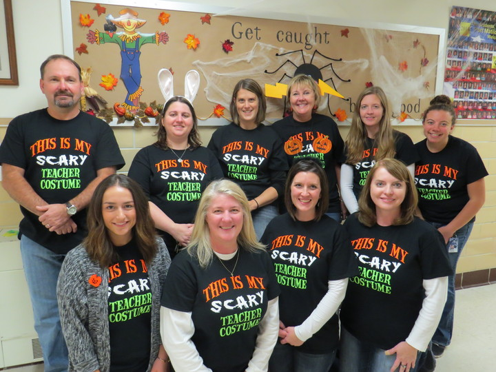 Scary Teacher Costume T-Shirt Photo