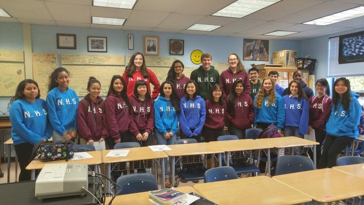 Falls Church High School National Honor Society T-Shirt Photo