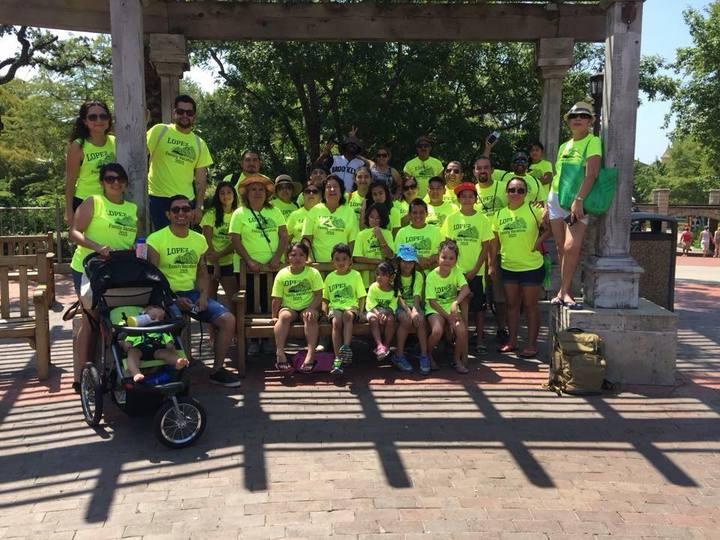 Lopez Family Vacation T-Shirt Photo