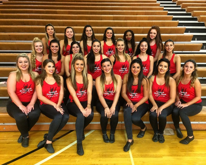 Ut Spanish Dance Team Loves Custom Ink T-Shirt Photo