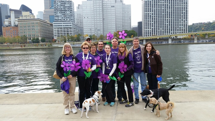 2015 Walk To End Alzheimer's T-Shirt Photo