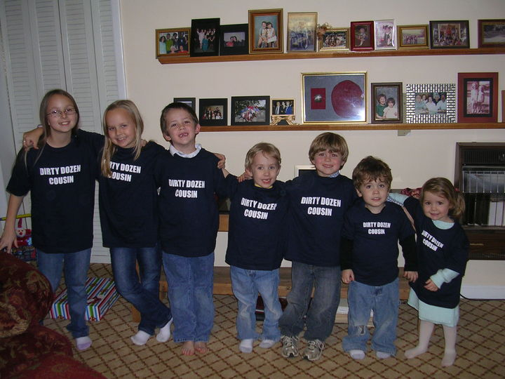 Dirty Dozen Cousins! T-Shirt Photo
