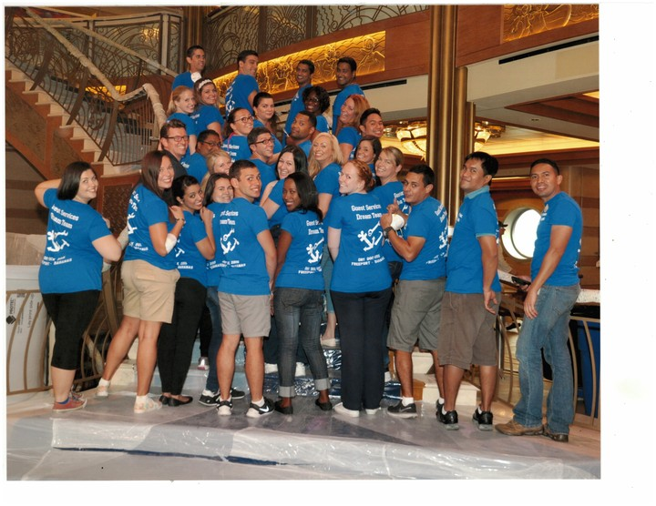 Dream Dry Dock Team! T-Shirt Photo