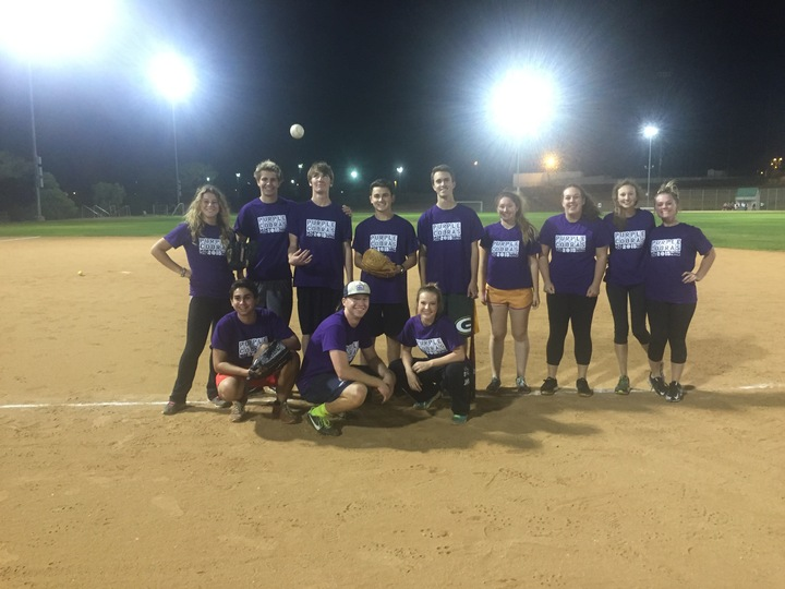 Purple Cobra Intramural Softball, Cal Poly Slo T-Shirt Photo