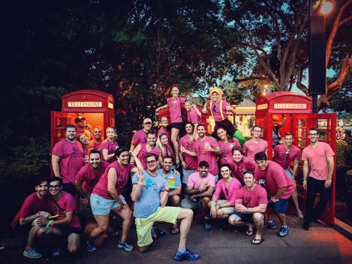 Ben's Bday Disney's Epcot 2015 T-Shirt Photo